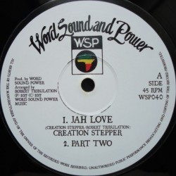 Creation Stepper - Jah Love...