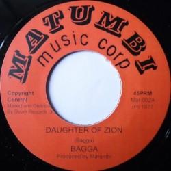 Bagga - Daughter of Zion 7''