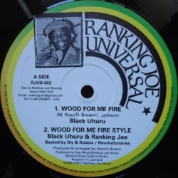 Black Uhuru - Wood for my...