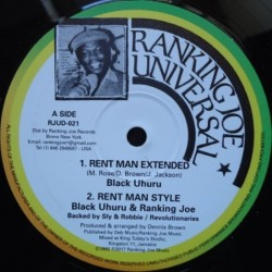 Black Uhuru - Rent Man 12""