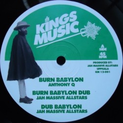 Anthony Q - Burn Babylon 12""