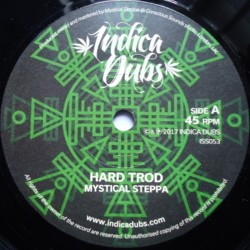 Mystical Steppa - Hard Trod 7""
