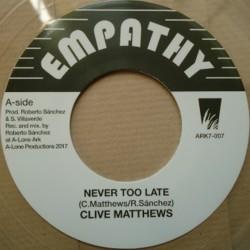 Clive Matthews - Never Too...