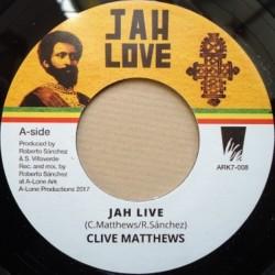 "Clive Matthews - Jah Live 7"""