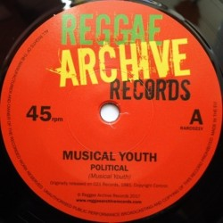 Musical Youth - Political 7""