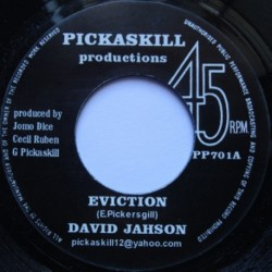 David Jahson - Eviction 7""