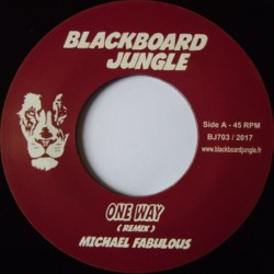 "Michael Fabulous - One Way 7"""