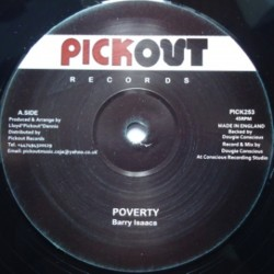 Barry Isaac - Poverty 12""