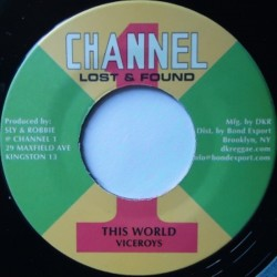 Viceroys - This World 7""