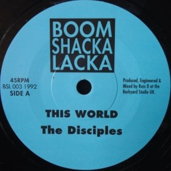 The Disciples - This World 7""