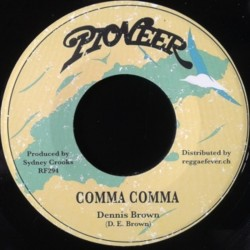 Dennis Brown - Comma Comma 7""