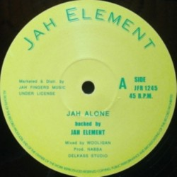 Jah Element - Jah Alone 12""