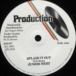 Junior West - Splash it out 7""