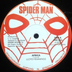 Lloyd Hemmings - Africa 12""