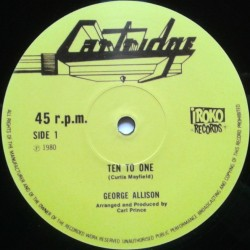 George Allison - Ten to One...