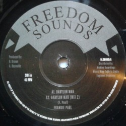 Frankie Paul - Babylon Man 12""