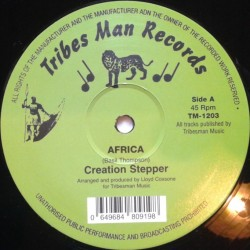 Creation Stepper - Africa 12""