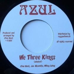 "Clive Hunt - We Three Kings 7"""