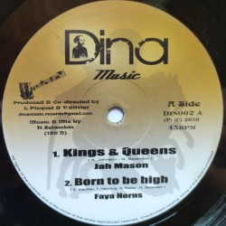 Jah Mason - Kings & Queens 10""