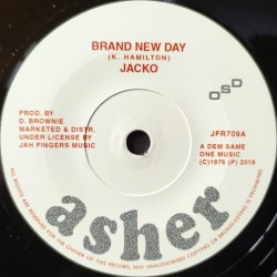 Jacko - Brand New Day 7""