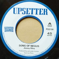 Jimmy Riley - Sons of Negus...