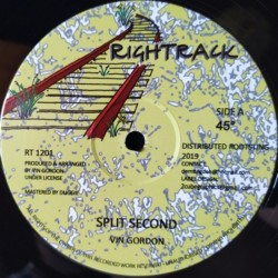 Vin Gordon - Split Second 12""