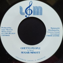 Sugar Minott - Ghetto...
