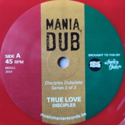 Disciples - True Love 7""