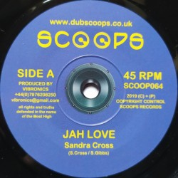 Sandra Cross - Jah Love 7""