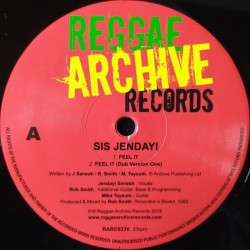 Sis Jendayi - Feel It 10""
