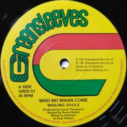 Wailing Souls - Who No Waan...