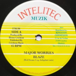 Major Worries - Blaze 7""