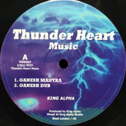 King Alpha - Ganesh Mantra 12""