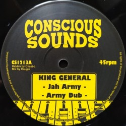 King General - Jah Army 12""