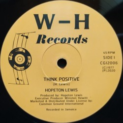Hopeton Lewis - Think...