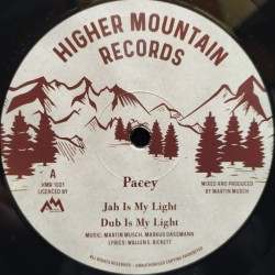 Pacey - Jah Is My Light 10""