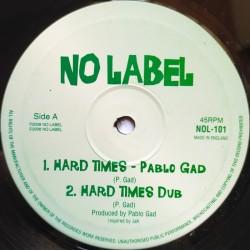 "Pablo Gad - Hard Times 10"""
