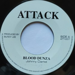 "Johnny Clarke - Blood Dunza 7"""