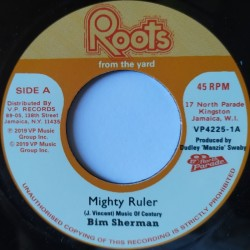 Bim Sherman - Mighty Ruler 7""