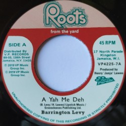 Barrington Levy - A Yah Me...