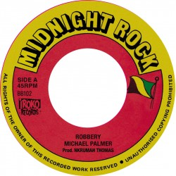 Michael Palmer - Robbery 7""