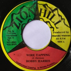 Bobby Harris - Wire Tapping 7""