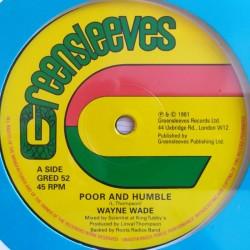 "Wayne Wade - Poor & Humble 12"""