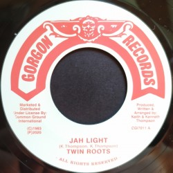 Twin Roots - Jah Light 7""