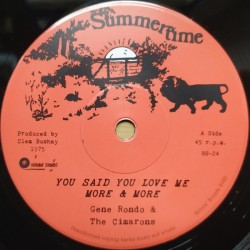 Gene Rondo & The Cimarons -...