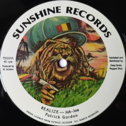 Patrick Gordon - Realize 12""