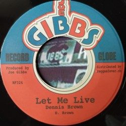 Dennis Brown - Let Me Live 7""