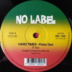 "Pablo Gad - Hard Times 12"""