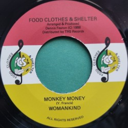 Womankind ‎– Monkey Money 7""