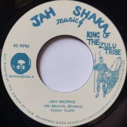 "Tony Tuff - Jah Works 7"""